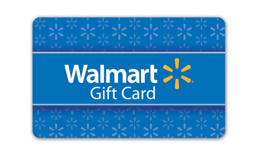 Get a $500 Walmart Gift Card!