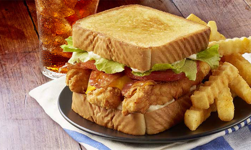 Get a FREE Sandwich Meal & Nibbler from Zaxby's!