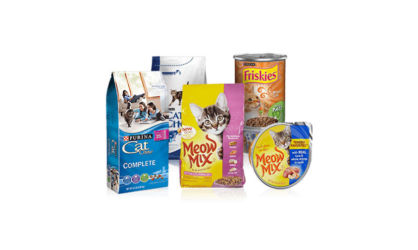 Get FREE Cat Food Samples!