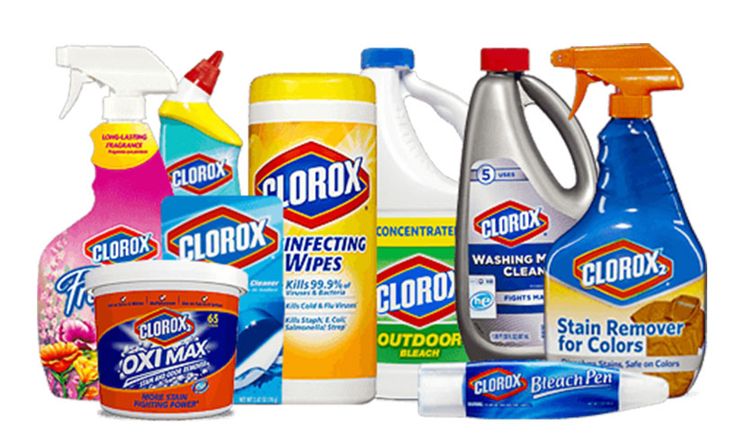 Get FREE Clorox Products!