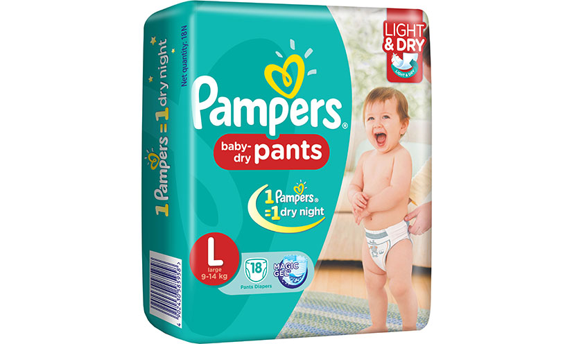 Enter for a Chance to Get a $25 Pampers Gift Card!
