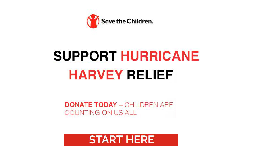 Support Hurricane Harvey Relief!