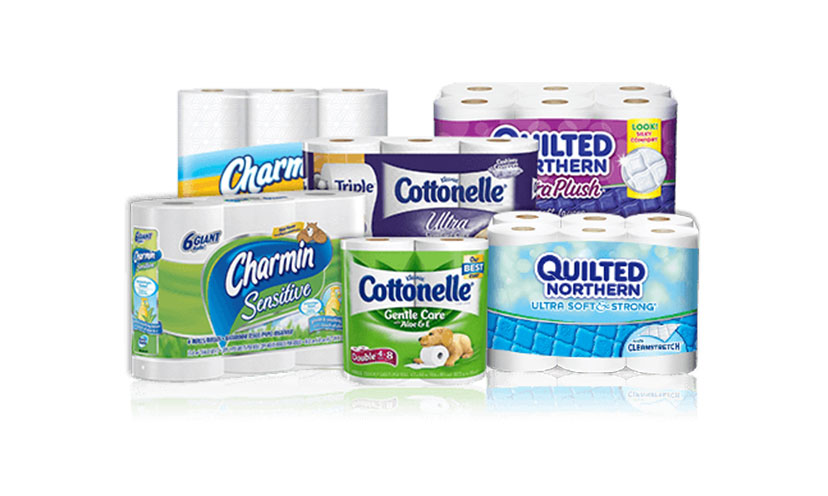 Get FREE Bathroom Tissue Samples!