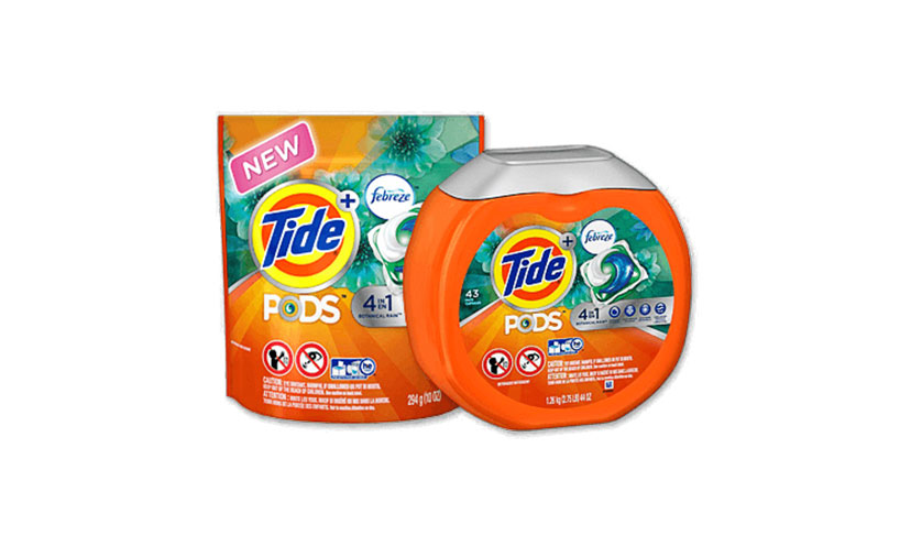 Get FREE Tide Pods and Febreze Samples!