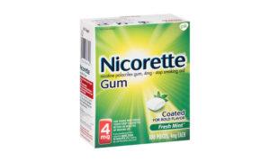 Save $10.00 on Nicorette Gum!