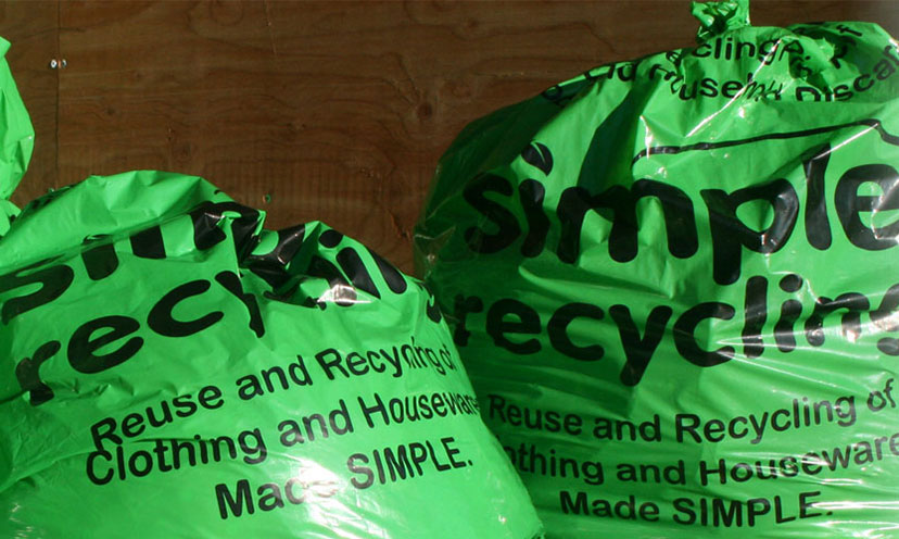 Get FREE Recycling Bags!