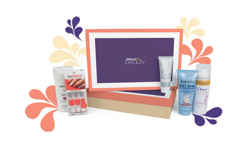 Get a FREE Beauty Box from Walmart!