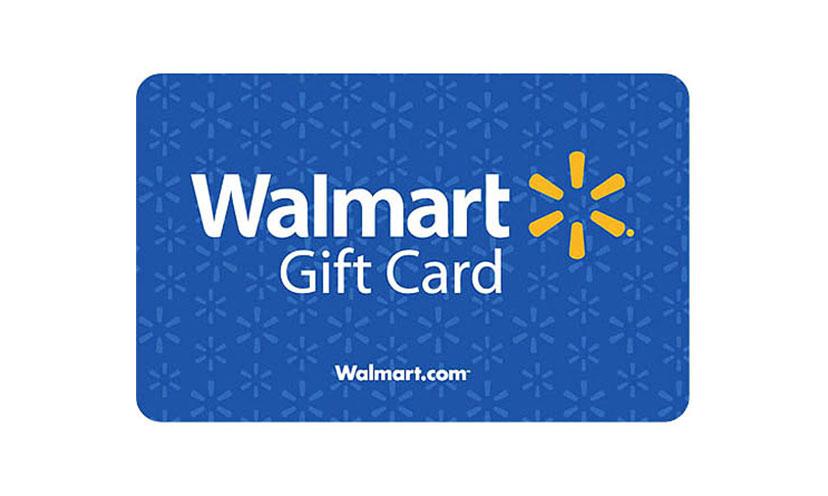 Enter to Win a $5,000 Walmart Gift Card!
