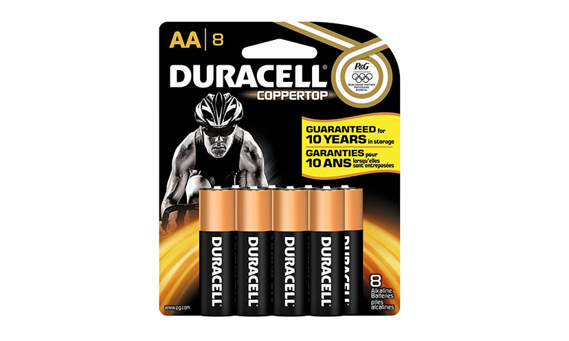 Save $2.00 on any Two Duracell Batteries!