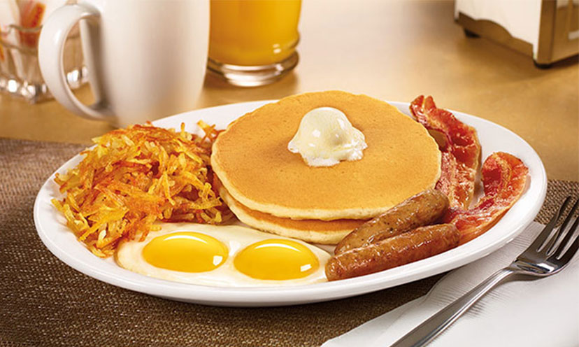 Veterans Get a FREE Grand Slam at Denny's!