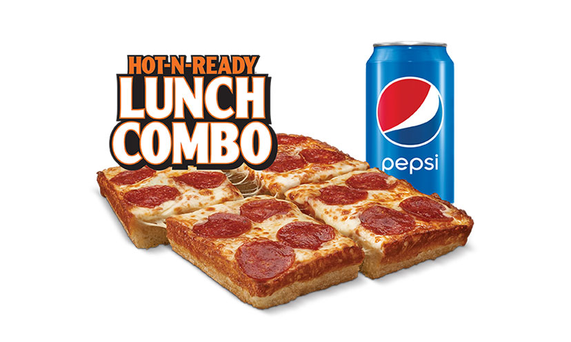 Veterans Get a FREE Lunch Combo from Little Caesars!