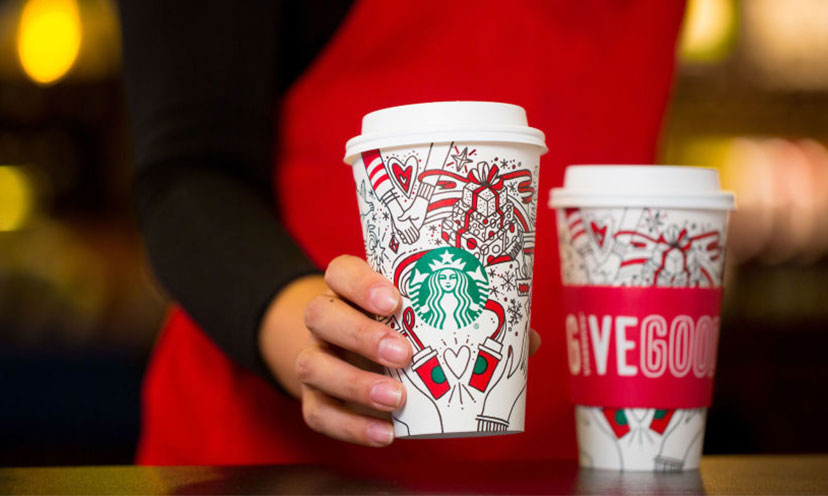 Get a FREE Extra Coffee from Starbucks!
