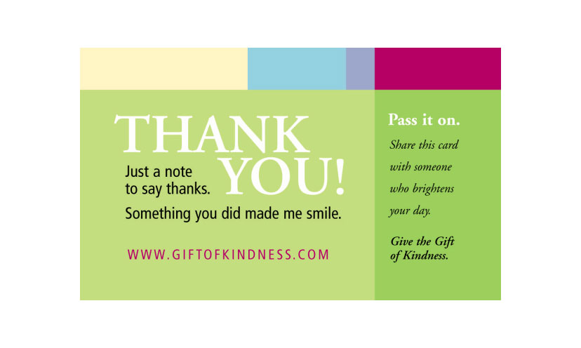 Get FREE Gift of Kindness Cards!