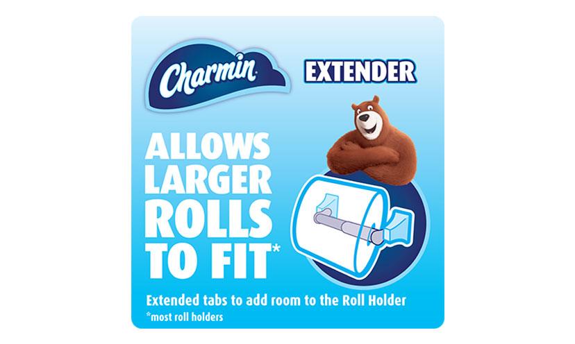 Get a FREE Charmin Roll Extender!