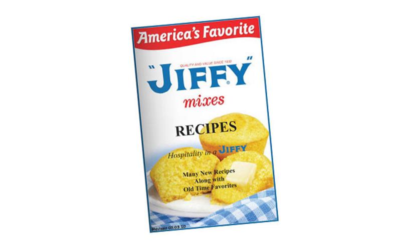 Get a FREE Jiffy Recipe Book!