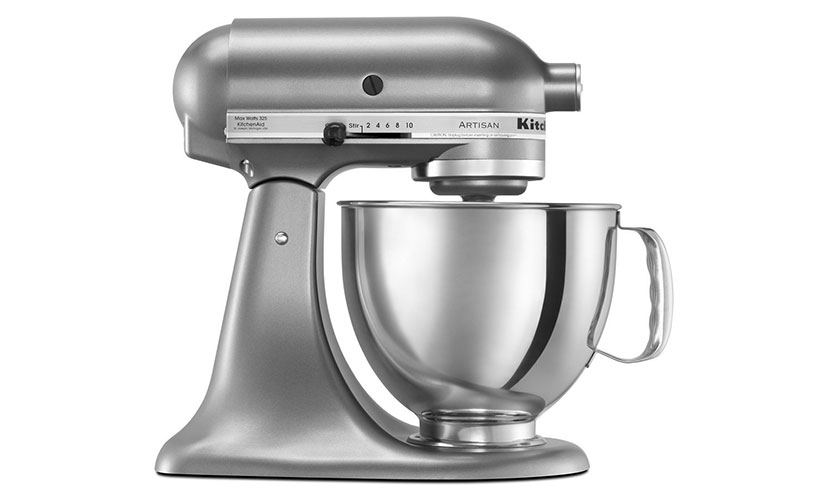 Save 35% on a KitchenAid Artisan Stand Mixer!