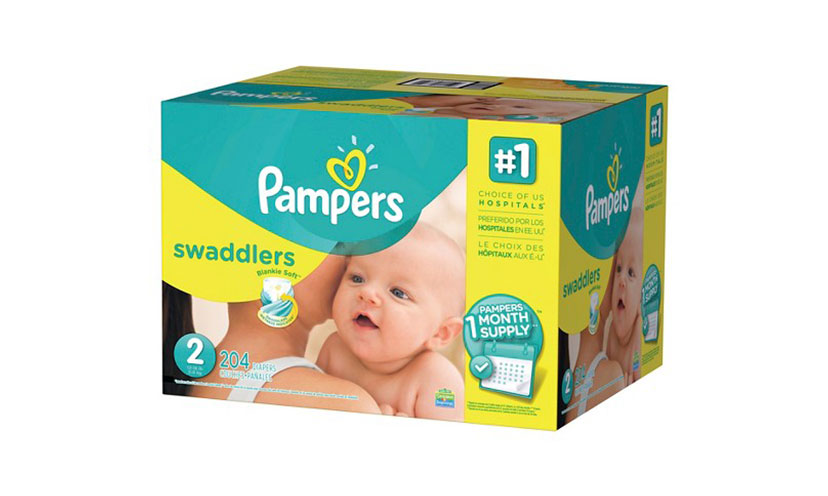 Save $1.50 on Pampers Diapers!