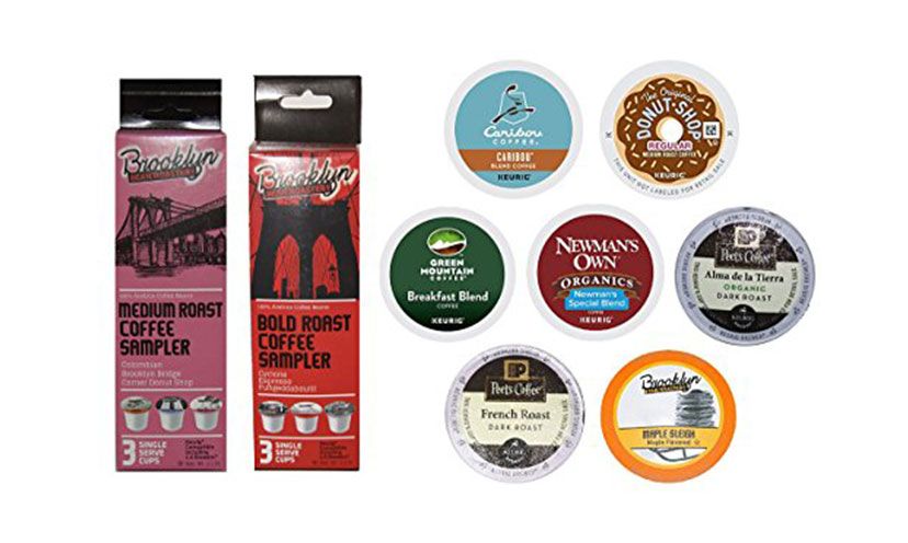 Get a FREE Sample Box of K-Cups!
