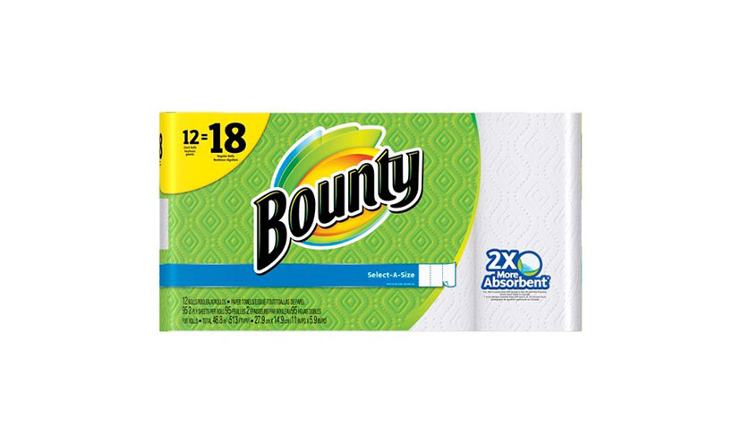 Save $1.00 on Bounty Paper Towels!