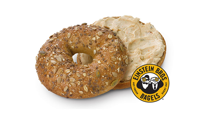 Get a FREE Bagel and Shmear from Einstein Bros!
