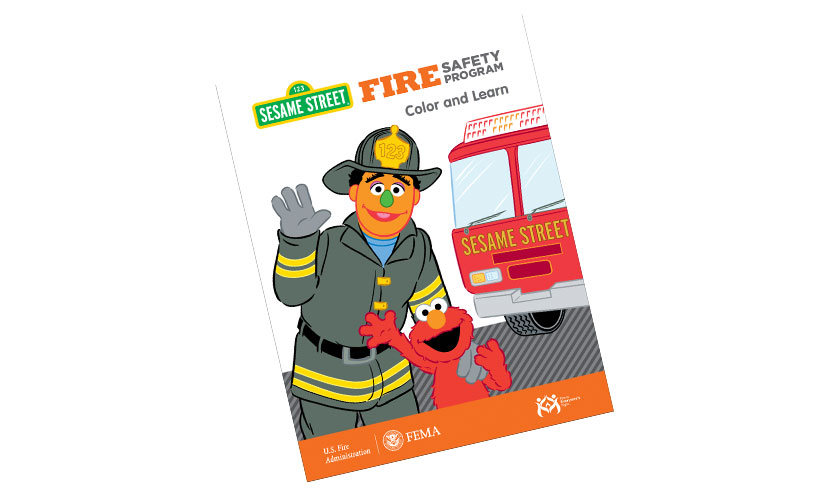 Get a FREE Fire Safety Coloring Book!