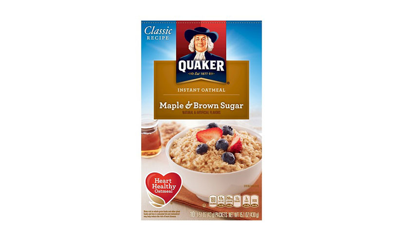 Save $1.00 on Quaker Oatmeal!