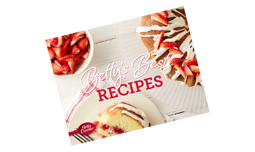 Get a FREE Betty Crocker Cookbook!