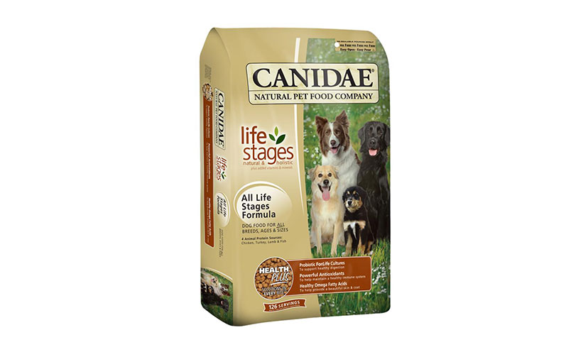 Get FREE Canidae Pet Food Samples!