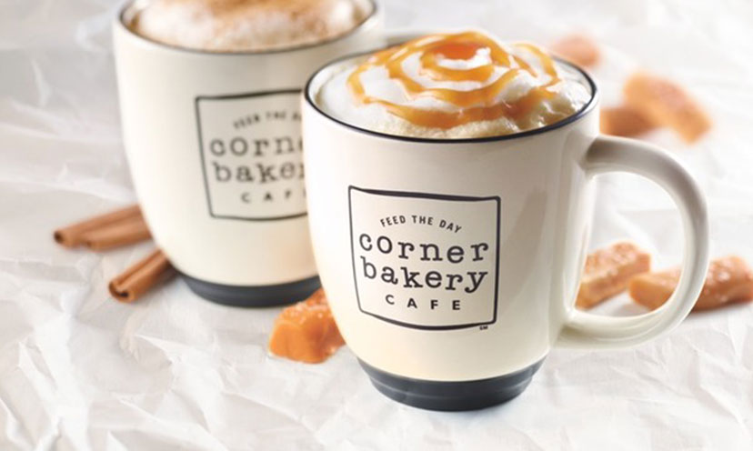 Get a FREE Small Coffee at The Corner Bakery!