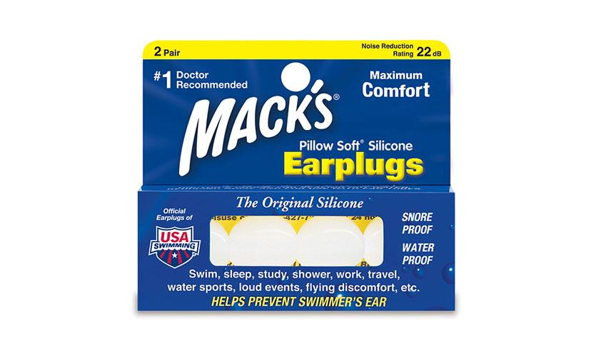 Get a FREE Pair of Earplugs!