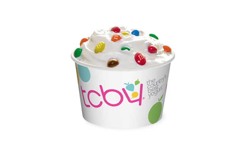 Get a FREE Cup of Froyo at TCBY!