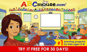 Get a FREE Trial of ABCmouse!