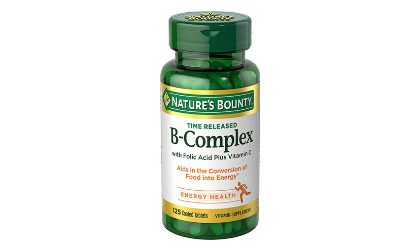 Save $1.00 on Nature's Bounty Vitamins!