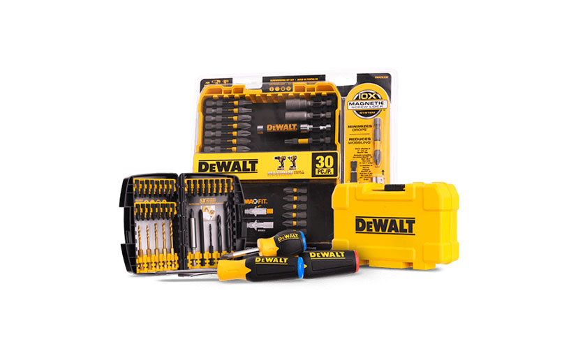 Get FREE Dewalt Samples!