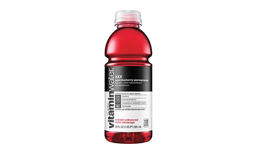 Get a FREE VitaminWater at Giant Eagle!