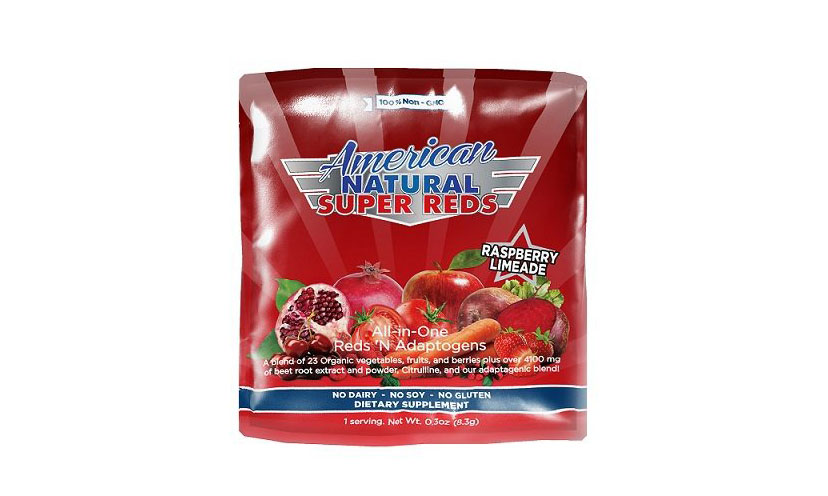 Get a FREE Sample of American Natural SuperReds!