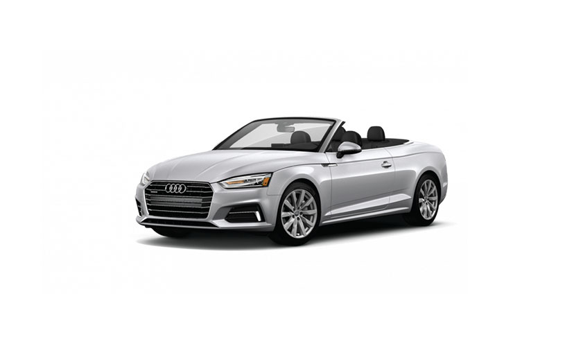 Enter to Win a 2018 Audi A5 Cabriolet!