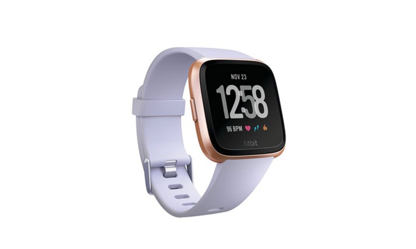 Enter to Win a Fitbit Versa Smartwatch!