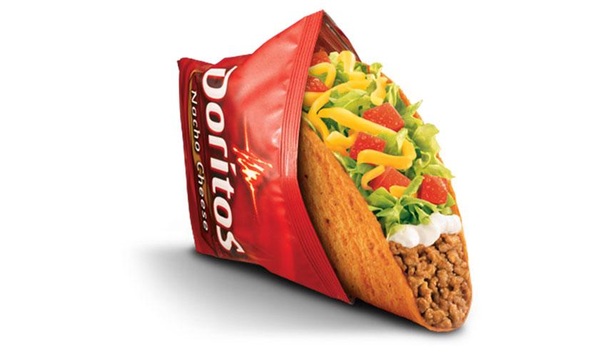 Get a FREE Doritos Locos Taco at Taco Bell!