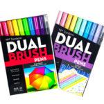 Get FREE Dual Brush Pens!