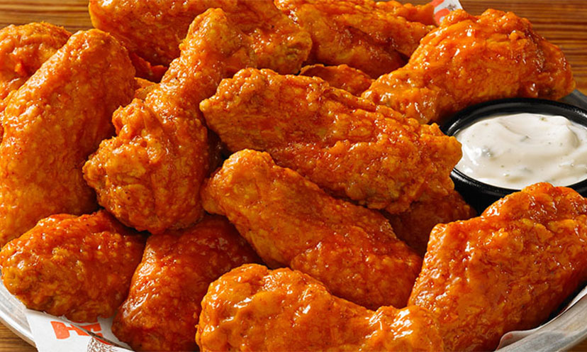 Get 10 FREE Wings at Hooters With Purchase!