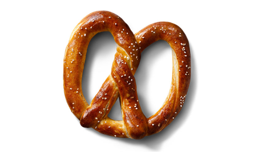 Get a FREE Auntie Anne's Pretzel with Purchase!