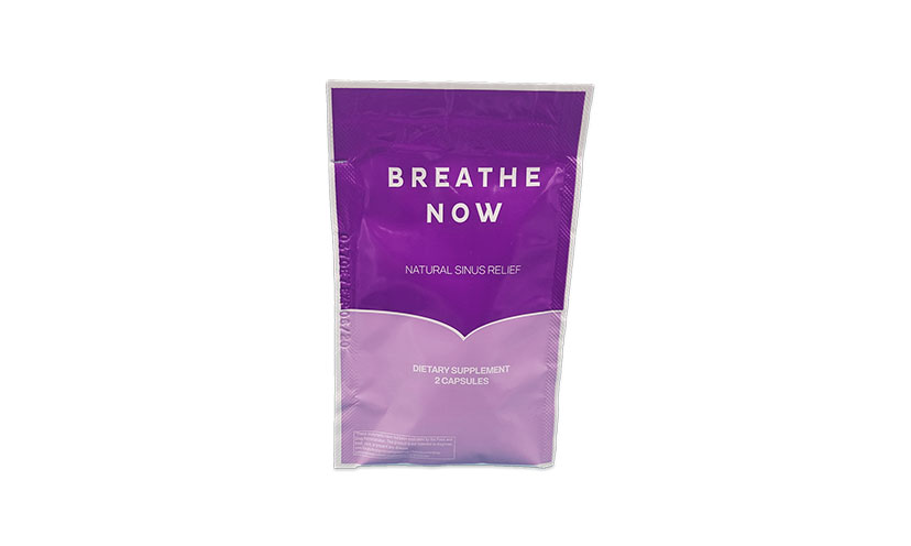 Get a FREE Breathe Now Sinus Relief Sample!