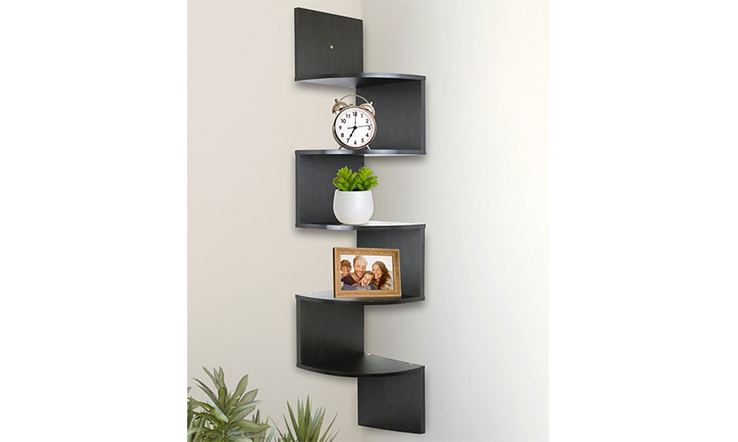 Save 37% on 5-Tier Wall Mount Corner Shelves!
