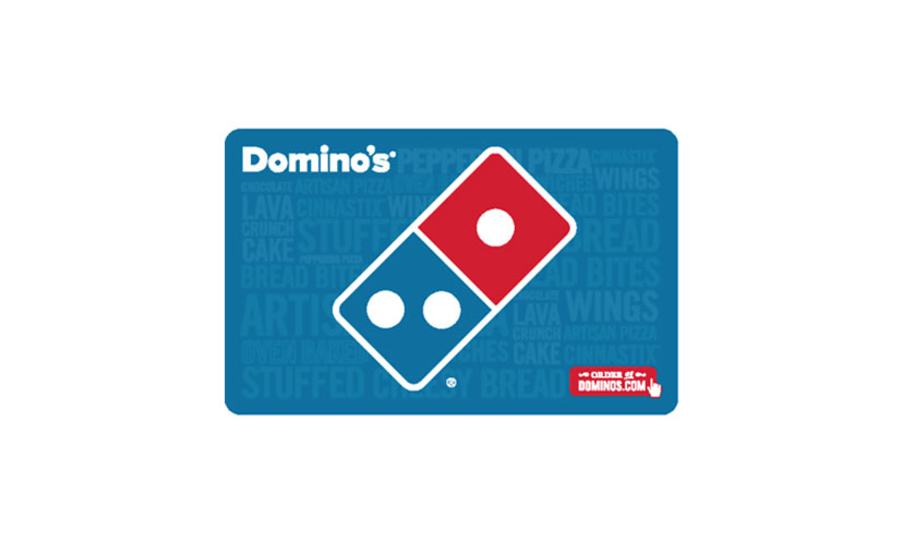 Save 20% on a Domino's Gift Card!
