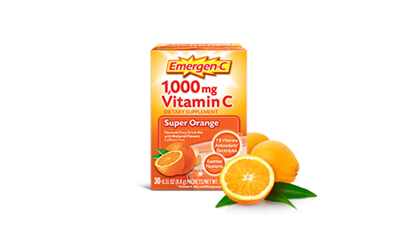 Save $1.00 on One Emergen-C Product!