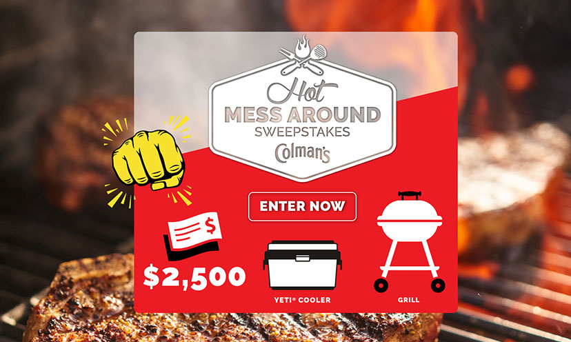 Enter to Win $2,500 Cash and More!