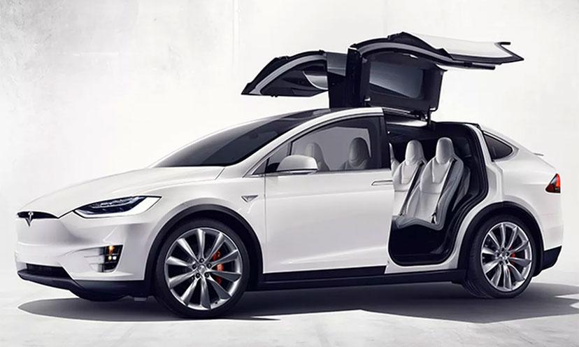 Enter to Win a Tesla Model X!