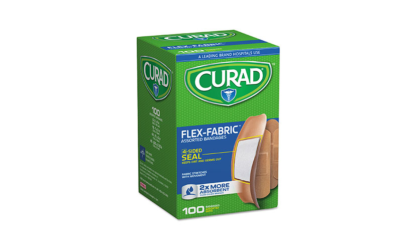 Get a FREE Pack of Curad Bandages at Dollar Tree!