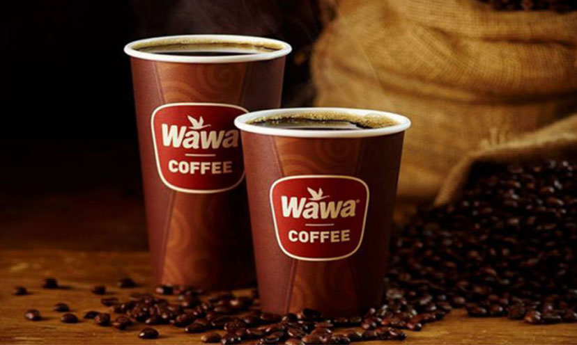 Get Any Size Cup of Coffee FREE at Wawa!